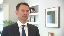 Hunt: I don't want to have to impose junior doctors' contracts
