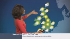 Weather: Chilly with clear skies and winter sunshine