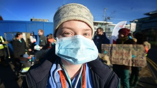 Junior doctors strike for the second time in a month