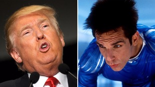 Donald Trump and Derek Zoolander.