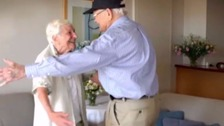 WWII veteran reunited with sweetheart after 70 years