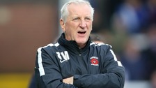 Hartlepool United manager Ronnie Moore