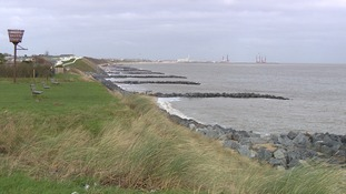 The money will help to protect the coastline at Hopton.