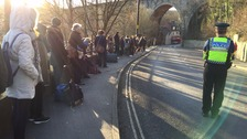 Durham station evacuated after gas leak
