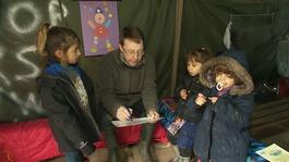 Cambridge teacher sets up makeshift school for refugees