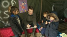 Cambridge teacher sets up makeshift school for refugees