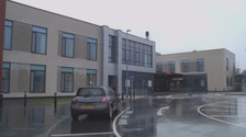 The West Cumberland hospital at Whitehaven