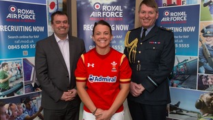 Meet the woman who's Wales' first full-time professional rugby player