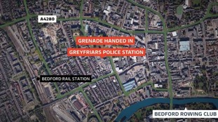 The device was handed in to Greyfriars Police Station.