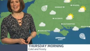 Cold and frosty start to Thursday in west of region