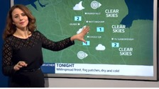 East Midlands weather: Dry with clear spells overnight