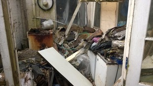 'Rat' house cleared of rubbish after court order
