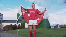 Meet Wales' first female full-time professional rugby player