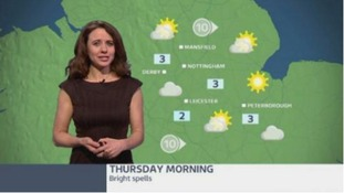 East Midlands weather: Bright spells