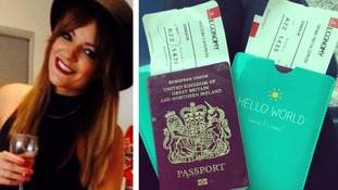 Faye Wilson had used pages from her passport to use as toilet paper