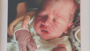 Charlie Jermyn died in May last year just 30 hours after he was born.