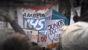 Junior doctors went on strike over the proposed changes
