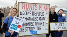 Hunt 'could impose junior doctor contracts by Monday'