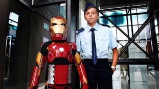 Make a Wish Australia: 'Iron Boy' saves reporter in daring rescue mission