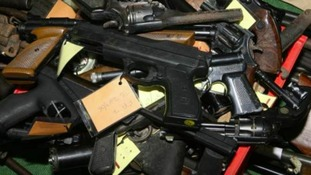 Guns are among items it's hoped will be handed in