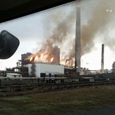 Tata Steel fire