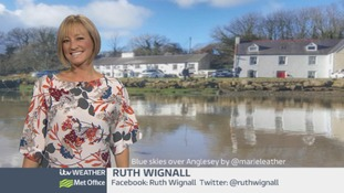 Wales Weather: Feeling a lot like winter!