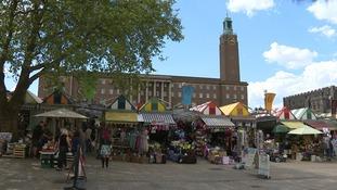 Norwich Market.
