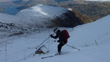Photos: Skiers enjoying the Lake District cold snap