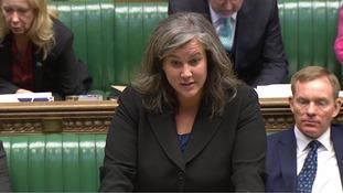 Shadow Health Secretary Heidi Alexander speaking in the Commons.
