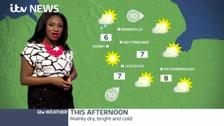 Sunny spells across the region