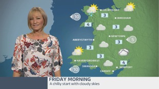 Wales Weather: Cold and cloudy to start the day!