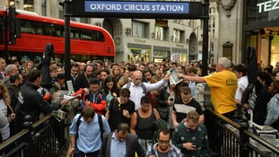 Tube delays caused by overcrowding 'double' in 3 years.