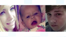 Langley Mill fire deaths: Three found guilty