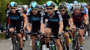 Tour of Britain passes through region
