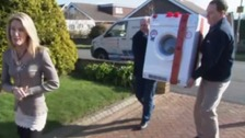 Viewers buy new tumble dryer for pensioner, worried about fire risk