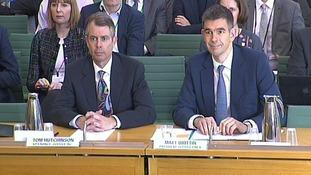 Google executives Tom Hutchinson and Matt Brittin