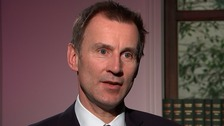 Hunt: Junior doctors' contracts 'just the start of seven-day NHS'