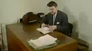 Jimmy at his desk working