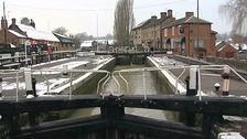 Locks allow canals to tackle a gradient.