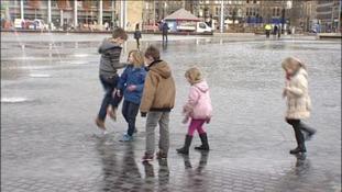 Bradford's Mirror Pool