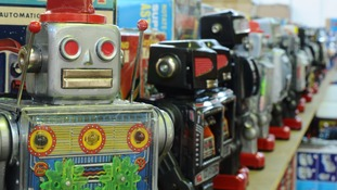 Thousands of toy robots under the hammer in Stockton