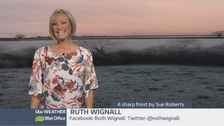 Wales Weather: Cold and frosty overnight!