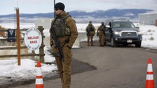 Oregon standoff ends after 41 days
