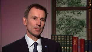 The health secretary Jeremy Hunt said he was imposing the contract