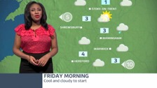 West Midlands weather: Cool and cloudy