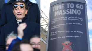 I agree: Cellino accepts fans' group 'time to go' poster