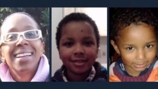 The bodies of Sian Blake and her children Zachary and Amon were found in their garden