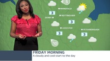 East Midlands weather: A cloudy and cool start