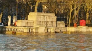 Flood alerts issued for parts of London after River Thames bursts its banks
