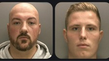 Reiss Johnson and Daniel Stirling were sentenced to a combined total of 22 months
